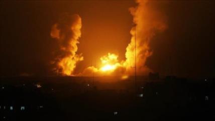 Cazas israelíes atacan por quinto día consecutivo la Franja de Gaza