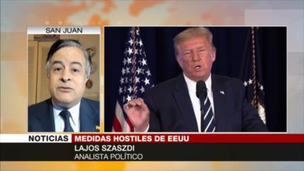 Lajos Szaszdi: EEUU sabe que no puede extender embargo a Irán
