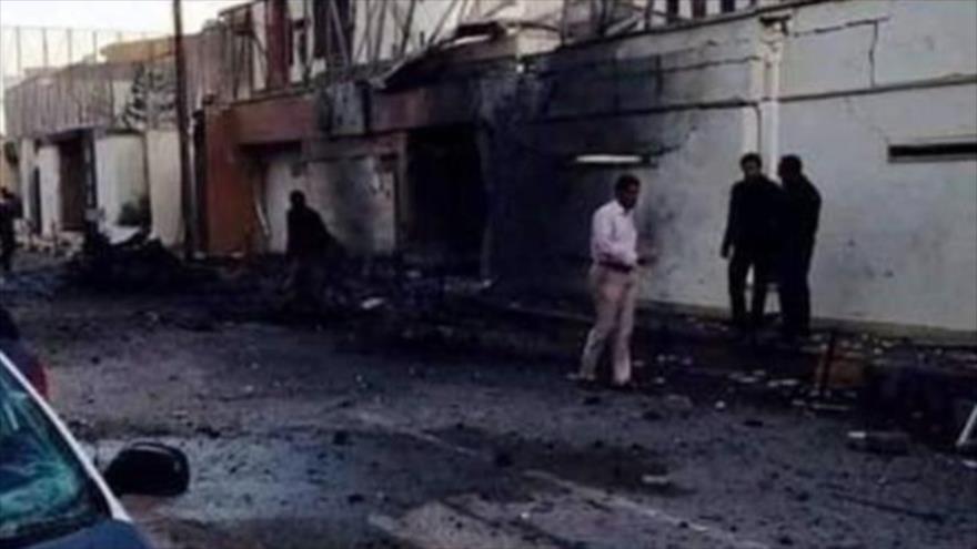 Incendian embajada emiratí en Libia tras normalización con Israel | HISPANTV