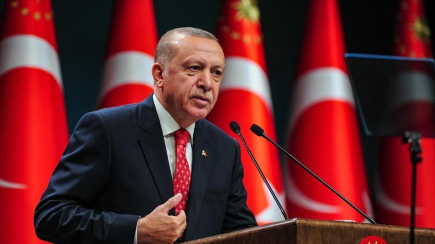 Erdogan: Turquía no cederá ante el bandolerismo en el Mediterráneo | HISPANTV