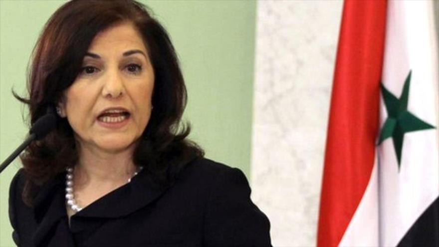 Buzaina Shaaban, asesora del presidente sirio, Bashar al-Asad.