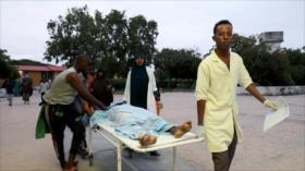 Al menos 11 muertos en un ataque terrorista a un hotel en Somalia