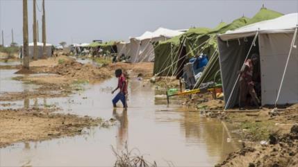 Inundaciones dejan 65 muertos y miles de damnificados en Sudán