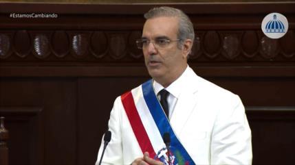 Luis Abinader asume la Presidencia de República Dominicana