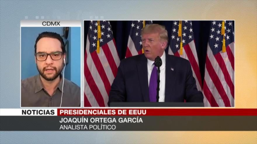 Ortega: Trump recurre a cualquier maniobra para ganar los comicios