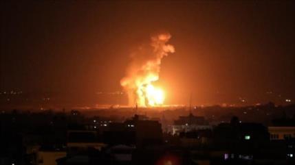 Israel vuelve a bombardear la Franja de Gaza