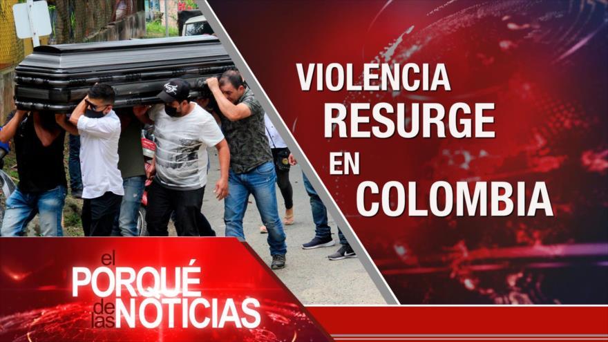 """El Porqué de las Noticias: """"Traición a la causa palestina"""". Lazos Irán-Siria. Violencia en Colombia"""