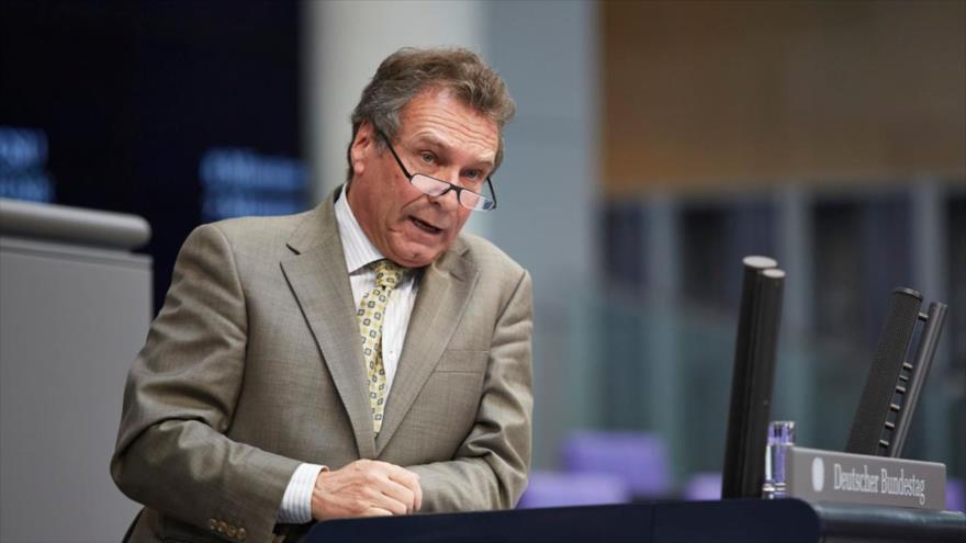 El presidente del Comité de Asuntos Económicos y Energía del Bundestag, Klaus Ernst.