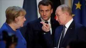 Putin alerta a Francia y Alemania de injerencias en Bielorrusia