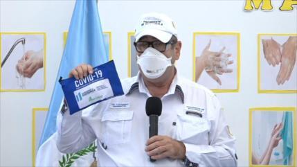 Guatemala distribuye kits para pacientes leves de COVID-19