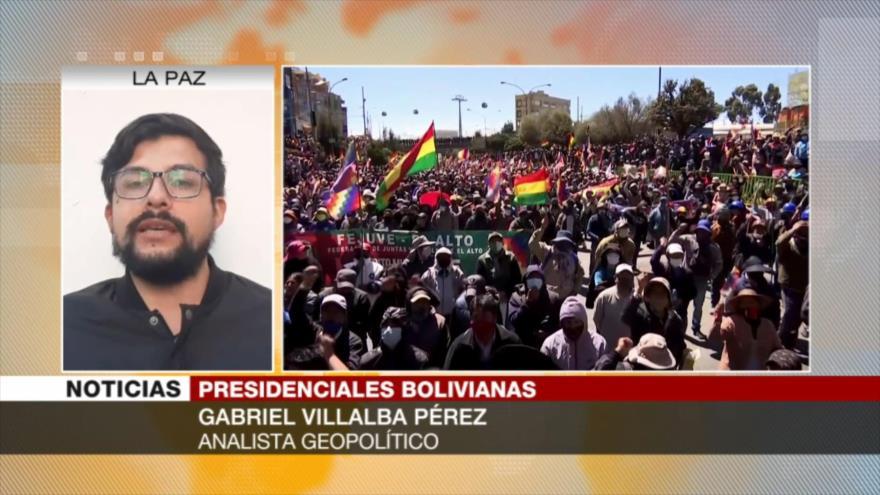 Villalba: El pueblo de Bolivia repudia el régimen de facto de Áñez | HISPANTV