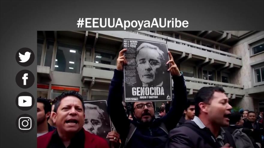 Etiquetaje: Estados Unidos apoya a Uribe
