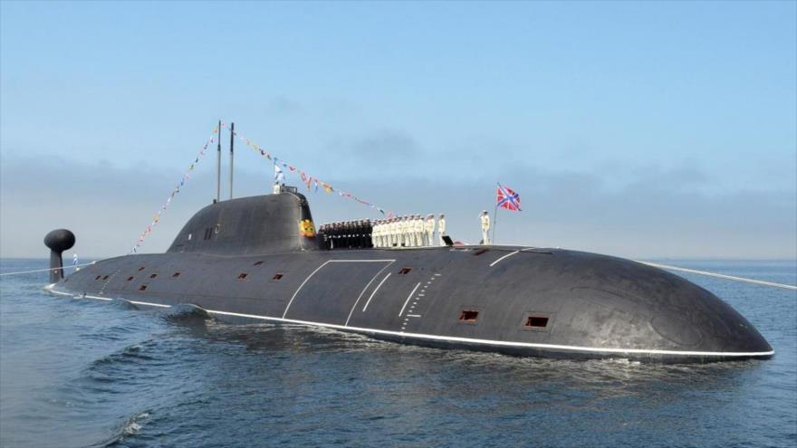 Submarino ruso de clase Kilo.