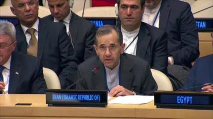Irán: EEUU debe tomar nota de su último fracaso cosechado en CSNU