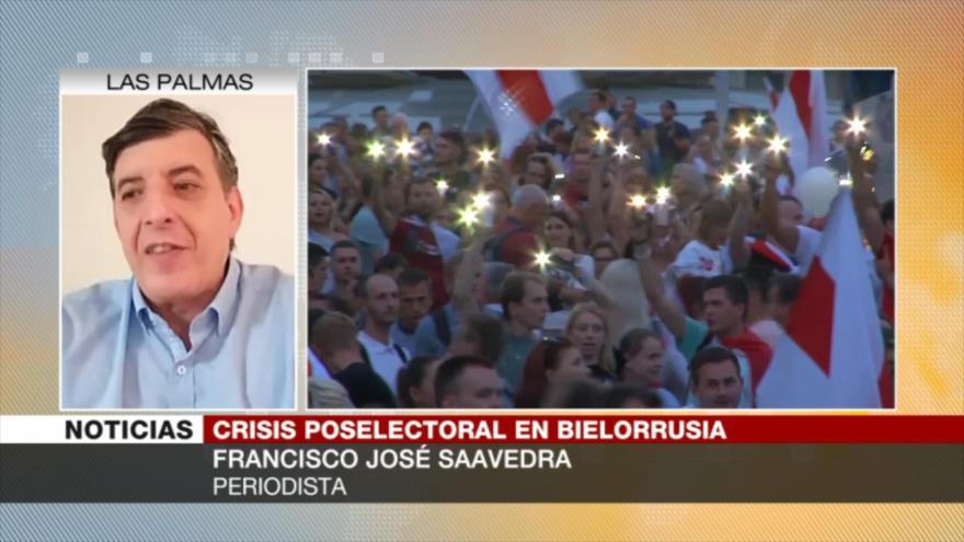 Saavedra: UE busca en Bielorrusia vía para abrirse hacia el este | HISPANTV