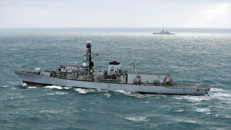 OTAN y Reino Unido escoltan 9 buques de Rusia en mar Báltico | HISPANTV