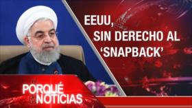 El Porqué de las Noticias: Acuerdo nuclear. Caso Uribe. Resistencia mapuche