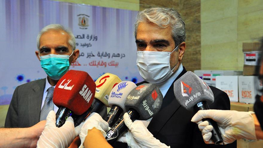 Irán envía ayuda médica para apoyar a Siria contra COVID-19   HISPANTV