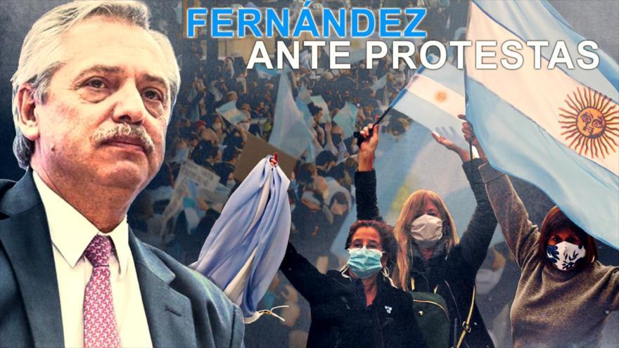 Detrás de la Razón; Protestas antigobierno: ¿Argentina contra los Fernández?