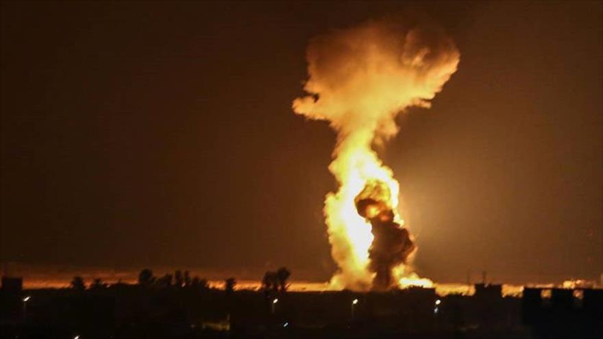 Israel sigue atacando la Franja de Gaza por noveno día consecutivo