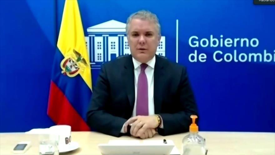 Iván Duque culpa a Venezuela por proteger a los grupos armados