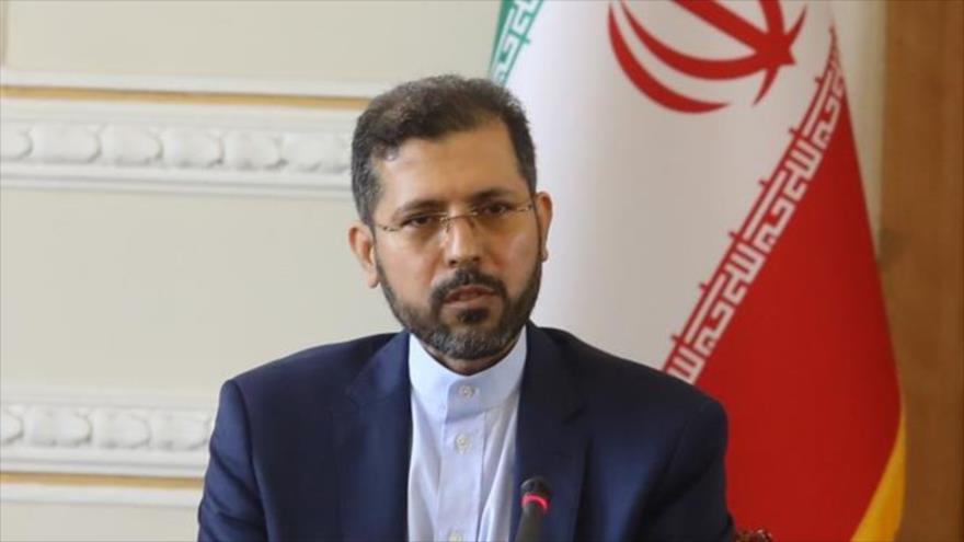 El portavoz de la Cancillería de Irán, Said Jatibzade.