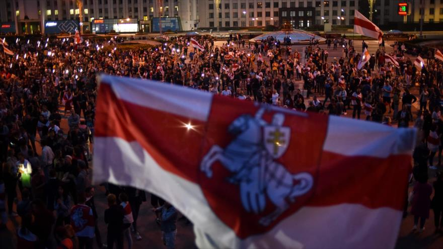 Oposición bielorrusa sopesa vía venezolana con dualidad de poder | HISPANTV