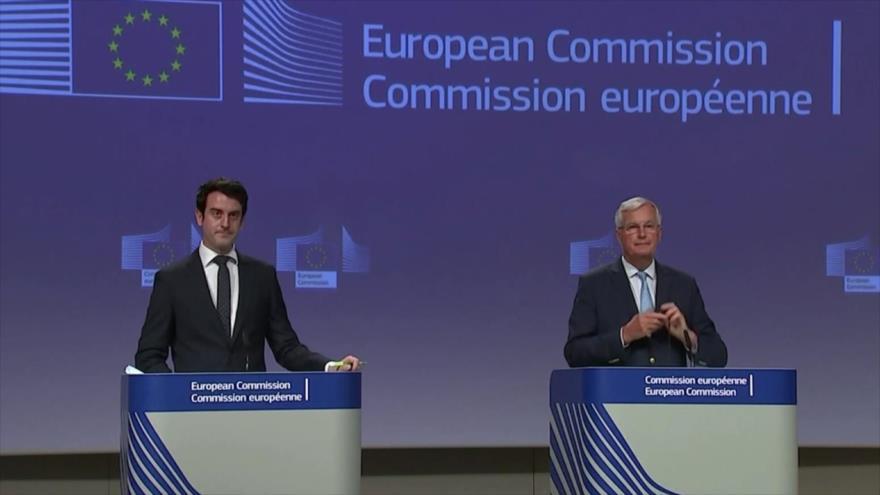 UE y Londres terminan sin avances diálogos pos-Brexit