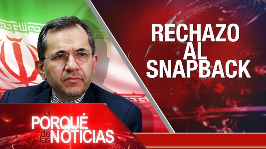 """El Porqué de las Noticias: No al """"vergonzoso acuerdo"""". Escándalo en México. Sanciones contra Irán"""
