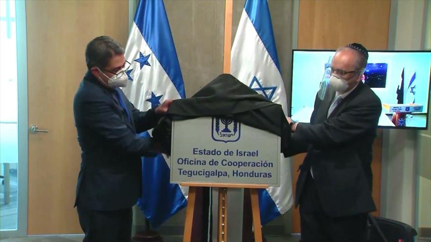 En Honduras inauguran oficina de cooperación de régimen de Israel