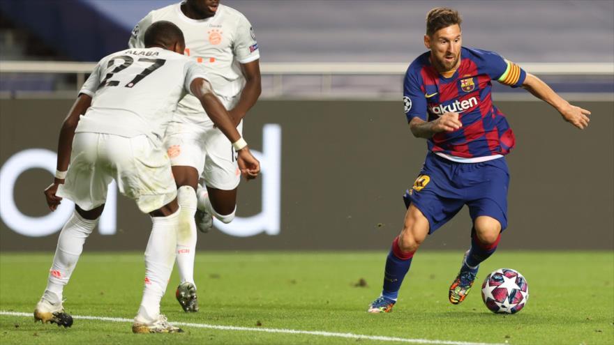 Inter busca patrocinadores en China para fichar a Messi   HISPANTV