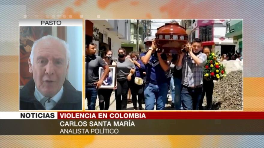Santa María: Asesinatos aumentan en Colombia ante inacción de Duque | HISPANTV