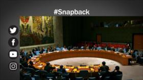 Etiquetaje: EEUU, aislado ante el intento de restablecer sanciones contra Irán