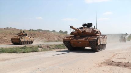 Fuerzas turcas atacan al Ejército sirio y los kurdas en Alepo