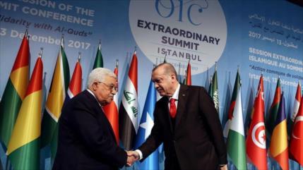 Turquía reitera apoyo a Palestina y rechaza normalización con Israel