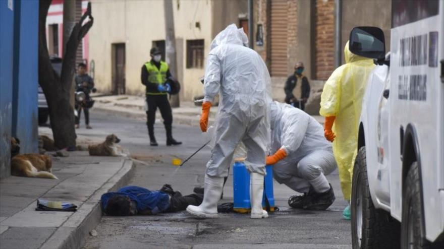 Cifra de muertos por COVID-19 en Bolivia supera 5 veces a la oficial | HISPANTV