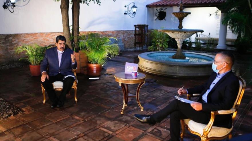 """Maduro afirma que en EEUU y Colombia """"hay un plan"""" para asesinarlo"""
