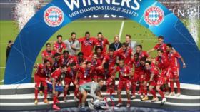 Bayern de Múnich se corona por sexta vez en la Liga de Campeones