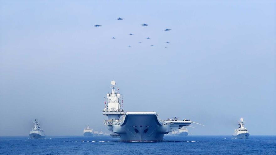 Ejército chino comienza maniobras simultáneas en 3 áreas marítimas |  HISPANTV