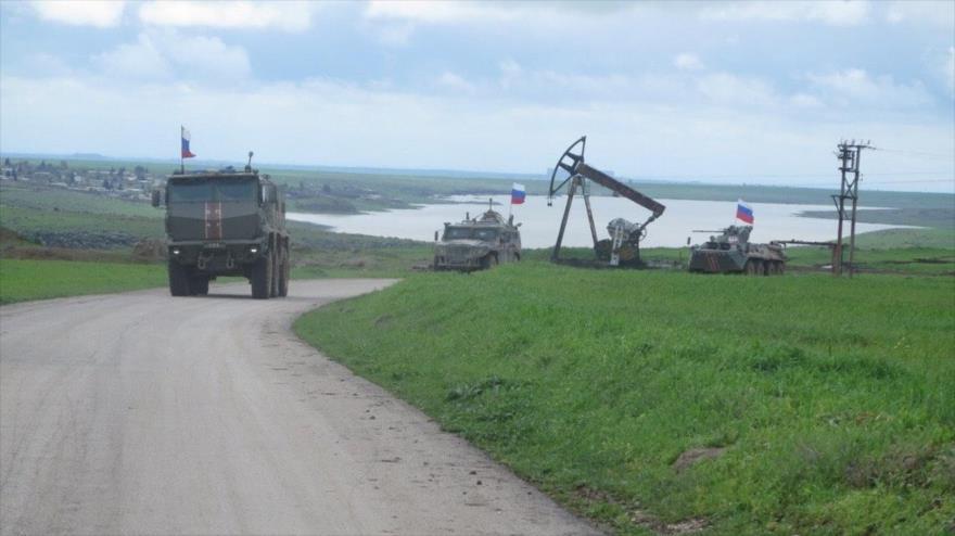 EEUU bloquea paso del convoy ruso que se acerca a sus bases en Siria | HISPANTV