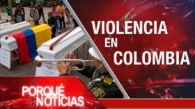 El Porqué de las Noticias: Diplomacia de Irán. Situación preocupante en Bolivia. Violencia en Colombia