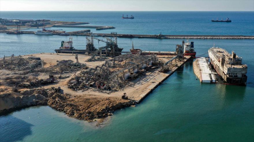 El Ejército libanés halla material peligroso en puerto de Beirut | HISPANTV