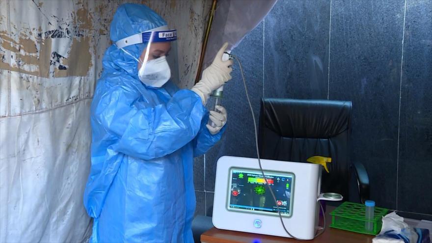 Irán presenta un sistema para detectar el coronavirus en segundos