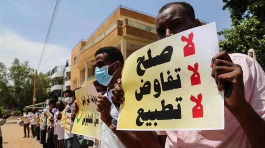Protestas en Sudán contra la normalización de lazos con Israel | HISPANTV