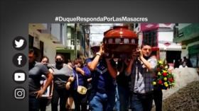 Etiquetaje: Duque, responsable de las masacres en Colombia