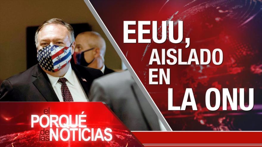 El Porqué de las Noticias: Postura de ONU ante EEUU. Huelga de los mapuches. Vacuna de COVID-19 en Cuba