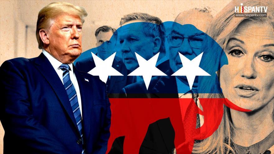 ¡Trump, candidato que no representa a todos los republicanos! | HISPANTV