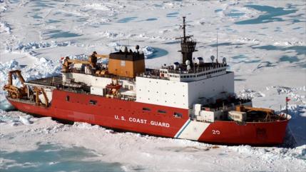 Incendio en rompehielos cancela operaciones de EEUU en el Ártico