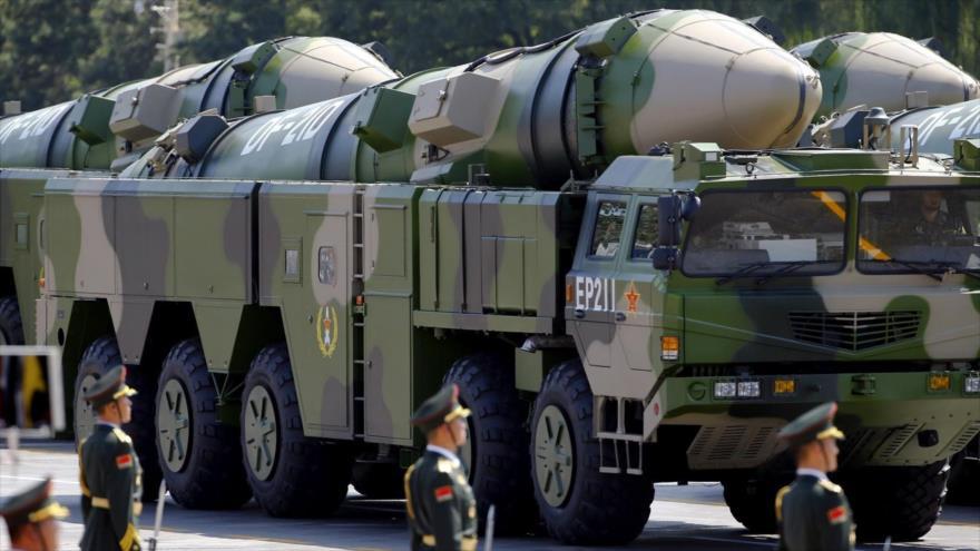 Pekín lanza misiles a mar de la China Meridional como aviso a EEUU | HISPANTV