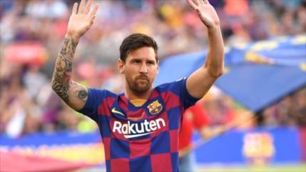 España perderá €50 millones si Messi se va del FC Barcelona